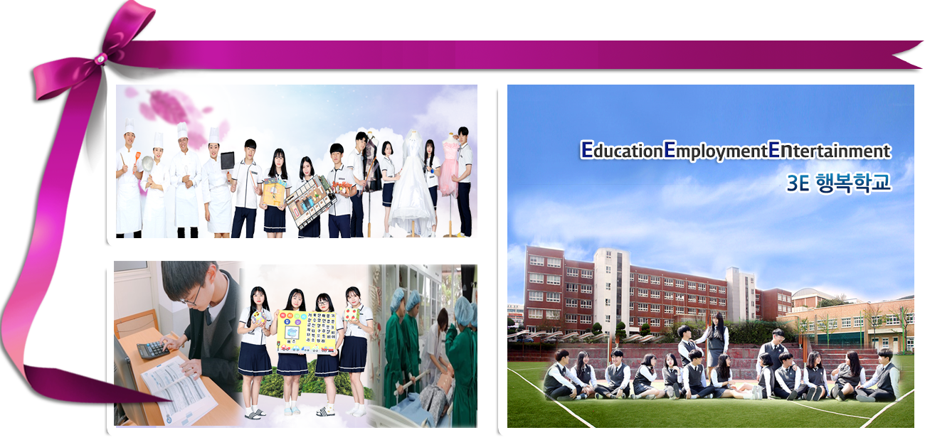 Education Employment Entertainment 3E 행복학교